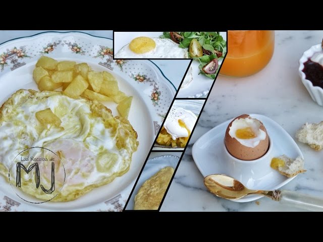7 maneras de cocinar un huevo las recetas de mj las for Formas de cocinar huevo