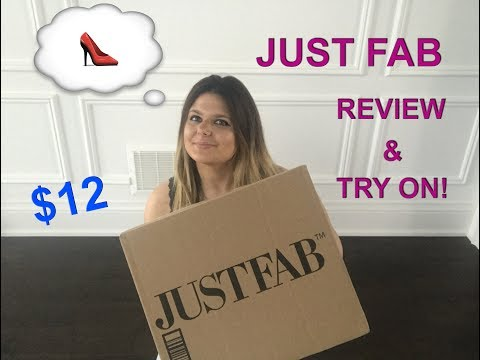 UNBOXING $12 JUSTFAB REVIEW & TRY ON!