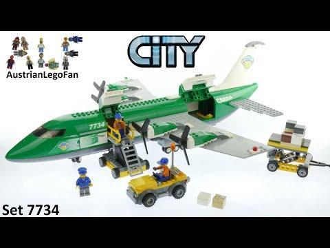 Vidéo LEGO City 7734 : L'avion cargo