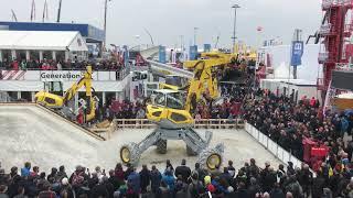 Menzi Muck Demo Show Bauma 2019