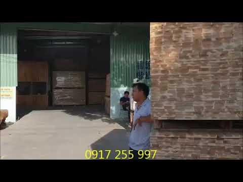 Xuất xưởng phôi gỗ sấy liên tục