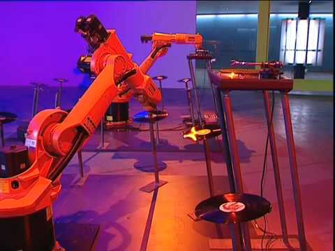I've Got Two Kuka Robot Arms and a Microphone