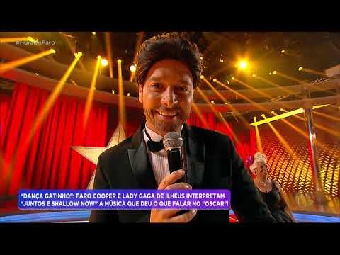 Rodrigo Faro e Gaga de Ilhéus refazem cena icônica de Bradley Cooper e Lady Gaga