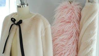 DIY Faux Fur Jacket Part 1