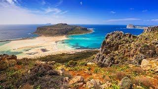 Греция остров Крит Crete там где нет туристов... Октябрь