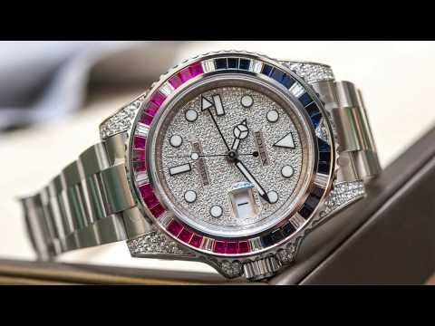 Spending Time: Ariel & David Discuss Bedazzled Rolex Watches  | aBlogtoWatch