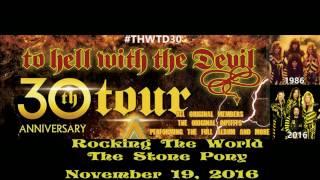 Stryper Rocking the World Stone Pony November 19, 2016