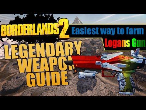 Borderlands 2 | How to Get The Logan's Gun - смотреть онлайн на Hah Life