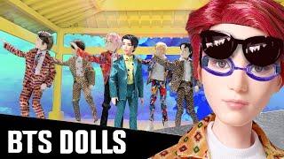 BTS Dolls Unboxing, Review, & Stop Motion (Mattel)