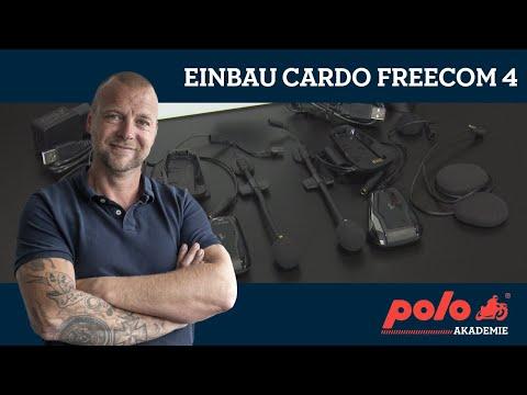 Einbau von Kommunikationssystemen: Cardo Scala Rider Freecom 4