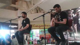 04 Vino Tinto - Estopa Showcase México 2014