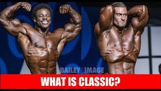What is Classic Physique?