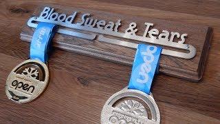 Making A Medal Display Rack