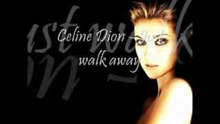 Céline Dion   Just Walk Away (Lyric Video)