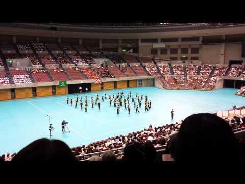 蟹江町立 蟹江中学校 平成26年度 第27回愛知県マーチング大会
