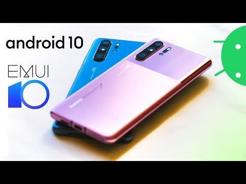 EMUI 10: Huawei P30 Pro gets Android 10, redesign & new colors! [Android Q]