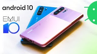 Huawei P30 Pro gets Android 10, redesign & new colors!
