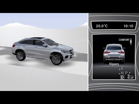 Mercedes-Benz TV: GLE Coup: DRIVER Assistance systems.