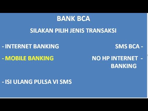 Video Cara Daftar m Banking Bca Lewat ATM