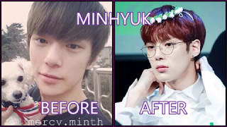 MONSTA X   BEFORE AND AFTER DEBUT
