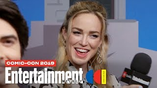 DC's Legends Of Tomorrow's Caity Lotz, Brandon Routh & More LIVE | SDCC 2019 | Entertainment Weekly