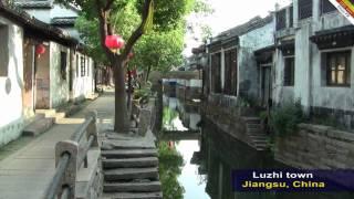 Video : China : LuZhi 甪直 water town, JiangSu province