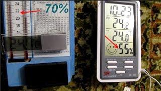 Гигрометр DC-803  - обзор и проверка показаний