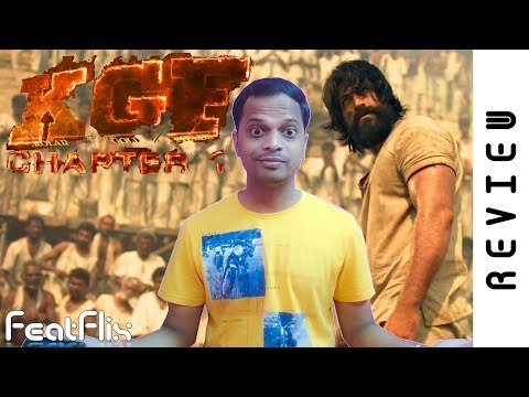 KGF Chapter 1 (2018) Action, Drama  Movie Review In Hindi | FeatFlix