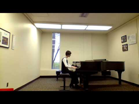 Keyboard Partita No. 2 in C minor BWV 826 VI. Capriccio (J.S. Bach)