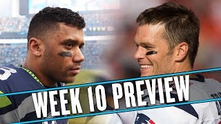 NFL Week 10 preview: Have the Seahawks and Patriots played before? I don't remember | Uffsides thumbnail