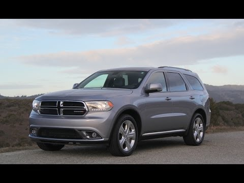 2014 Dodge Durango Limited RWD Review and Road Test