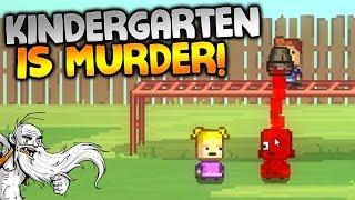 """Kindergarten Gameplay - """"KINDERGARTEN IS MURDER!!!""""  - Let"""