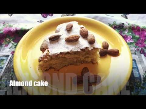Video Almond cake without flour - recipe