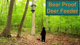 DIY - Bear Proof Deer Feeder Setup