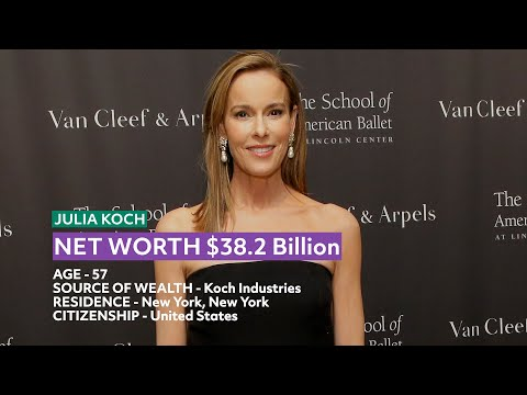 Top 10 Richest Women in The World 2020 | Forbes Rich List