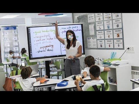 Ισπανία: Διαδηλώσεις κατά της επιστροφής στα σχολεία