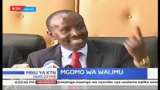 Katibu mkuu wa KNUT atoa ilani ya mgomo wa walimu tarehe 2, Januari | Mbiu ya KTN full