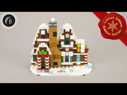 Vidéo LEGO Saisonnier 40337 : La mini maison en pain d'épices