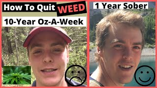 Best Way to Quit Smoking Weed (Marijuana Addiction Info & Recovery System)