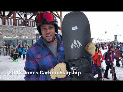 2018 Jones Carbon Flagship Snowboard Review