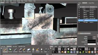 Painting In Mudbox For UDK (Part 6: Bumps And Dents