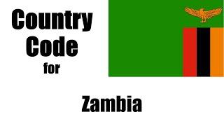 Zambia Dialing Code - Zambian Country Code - Telephone Area Codes in Zambia