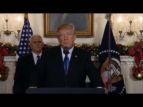 President Donald Trump ays US will recognize Jerusalem as Israel's capital: Special Report
