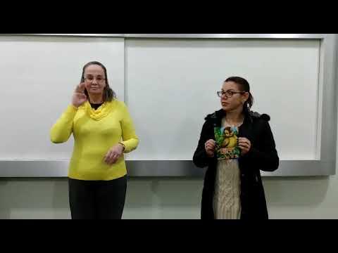Curso de Extensão de Libras trabalha a contação de história por meio da língua de sinais