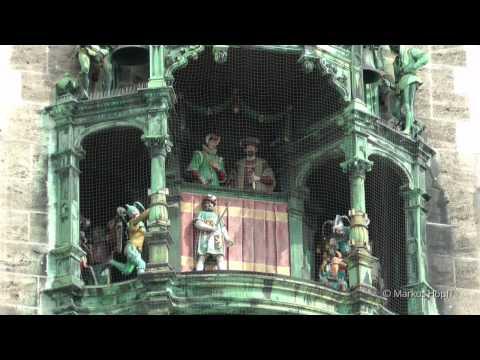 Glockenspiel München Marienplatz HD - Munich carillon HD