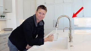 Kitchen Faucet That Listens To Your Voice!