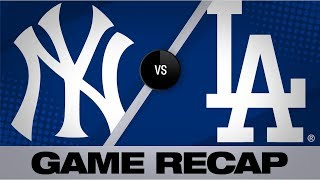 Condensed Game: Didi Gregorius crushed two homers, including a grand slam, and James Paxton struck out 11 in the Yankees' 10-2 victory  Don't forget to subscribe! https://www.youtube.com/mlb  Follow us elsewhere too: Twitter: https://twitter.com/MLB Instagram: https://www.instagram.com/mlb/ Facebook: https://www.facebook.com/mlb TikTok: https://www.tiktok.com/share/user/6569247715560456198  Visit our site for all baseball news, stats and scores! https://www.mlb.com/