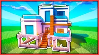 Como hacer una casa en minecraft con piscina free video for Como hacer una casa moderna y grande en minecraft 1 5 2