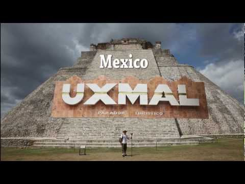 Mayan ruins at Uxmal Mexico