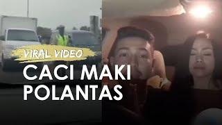 Viral Video Dua Orang yang Caci Maki Polisi, Ini Klarifikasi Mereka